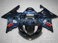 Dark Navy ABS Fairing Set K2 - Suzuki GSXR1000 2000-2002