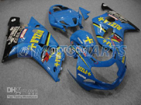 Blue Rizla ABS Fairing Set K2 - Suzuki GSXR1000 2000-2002
