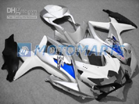 Blue/White/Silver ABS Fairing Set K8 - Suzuki GSXR600/750 2008-2010