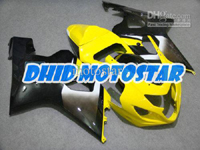 Yellow/Black ABS Fairing Set K4 - Suzuki GSXR600/750 2004-2005