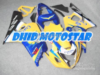 Yellow Corona ABS Fairing Set K4 - Suzuki GSXR600/750 2004-2005