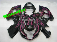 Purple Flame ABS Fairing Set K4 - Suzuki GSXR600/750 2004-2005