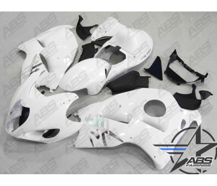 ABS Fairings All White - 99-07' Hayabusa GSXR1300