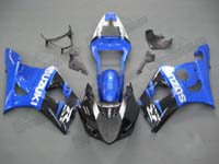 Blue/Black Fairing Set 9pc - Suzuki GSXR 1000 2003-2004