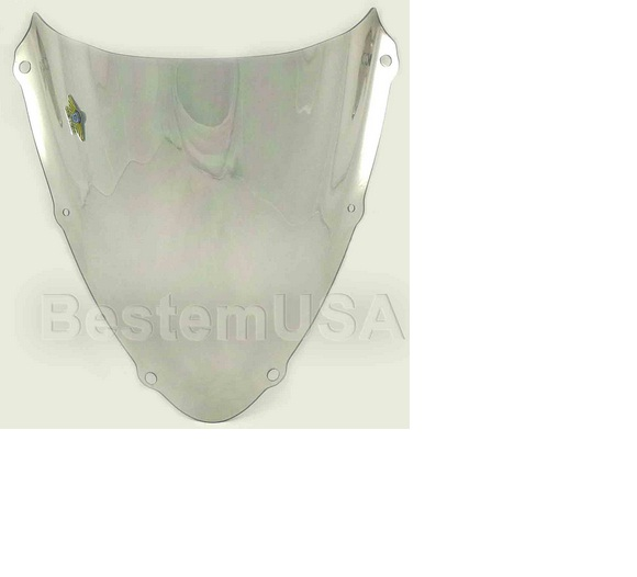 Bestem Suzuki GSXR750 08-09 Chrome Silver Windshield,#S16S