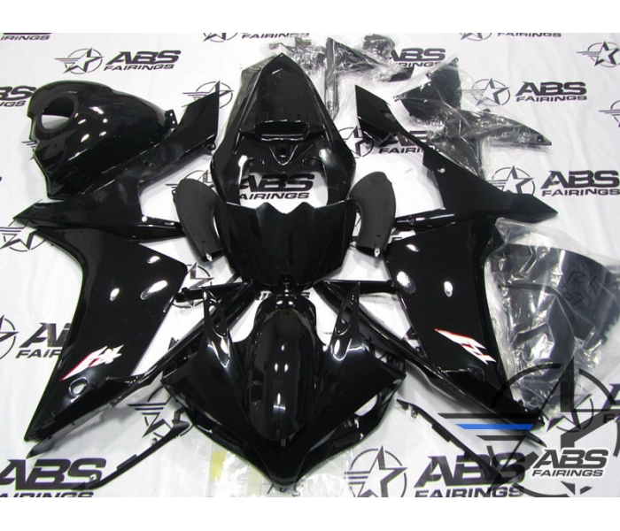 ABS Fairings All Black - 07-08' R1