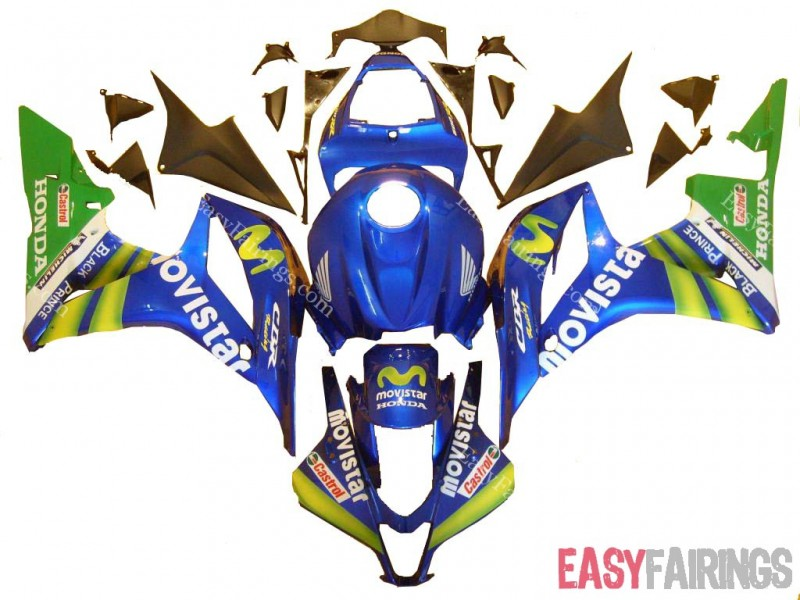 Easy Fairings 2009 2010 2011 2012 Honda CBR600RR Fairings: Movistar Design