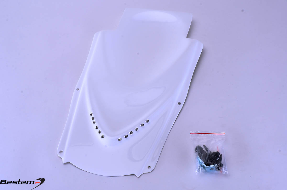 Bestem Suzuki GSXR 600/750 Undertail,2004-2005,White,Single Row,Sharp,F21
