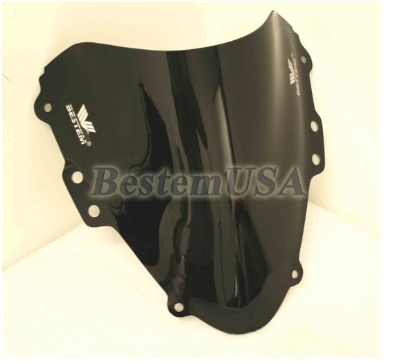Bestem Suzuki GSXR600/750 04-05 Black Windshield