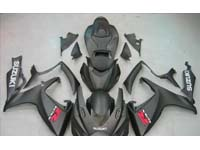 Black Fairing Set 23pc - Suzuki GSXR 600/750 2006-2007