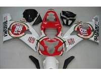 Lucky Strike Fairing Set 10pc - Suzuki GSXR 600/750 2004-2005