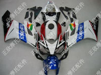 ZXMT Eurobet ABS Fairing Set 19pc - Honda CBR 1000RR 2004-2005***No Honda Logos***