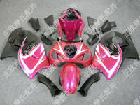 ZXMT Pink/Black ABS Fairing Set 18pc - Suzuki GSXR1300 1997-2007