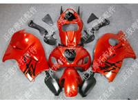 ZXMT Red/Black ABS Fairing Set 18pc - Suzuki GSXR1300 1997-2007