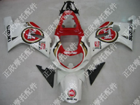 ZXMT Lucky Strike ABS Fairing Set 9pc - Suzuki GSXR1000 2000-2002