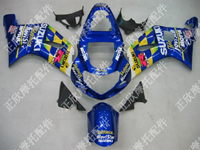 ZXMT MoviStar ABS Fairing Set 9pc - Suzuki GSXR1000 2000-2002