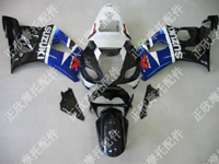 ZXMT Black/Blue ABS Fairing Set 9pc - Suzuki GSXR1000 2003-2004