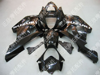 ZXMT Black ABS Fairing Set 9pc - Suzuki GSXR1000 2003-2004