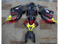 ZXMT Black Red Bull ABS Fairing Set 26pc - Honda CBR 600RR 2009 ***No Honda Logos***