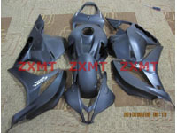 ZXMT Black ABS Fairing Set 26pc - Honda CBR 600RR 2009***No Honda Logos***