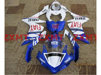 ZXMT Fiat ABS Fairing Set 26pc - Yamaha YZF-R1 2007-2008
