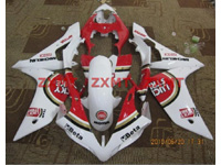 ZXMT Lucky Strike ABS Fairing Set 26pc - Yamaha YZF-R1 2007-2008