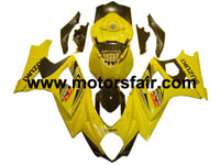 Suzuki GSXR 1000 2007-2008 ABS Fairing - Yellow