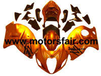 Suzuki GSXR 1300 Hayabusa 1996-2007 ABS Fairing - Orange