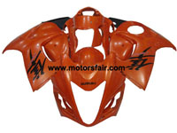 Suzuki GSXR 1300 Hayabusa 2008-2009 ABS Fairing - Red