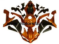 Yamaha R1 2007-2008 ABS Fairing - Orange/Black