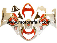 Suzuki GSXR 600/750 2001-2003 ABS Fairing - Lucky Strike