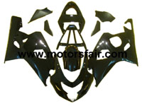 Suzuki GSXR 600/750 2004-2005 ABS Fairing - Black