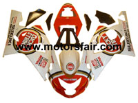 Suzuki GSXR 600/750 2004-2005 ABS Fairing - Lucky Strike