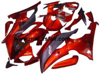 Yamaha R6 2008-2009 ABS Fairing - Red