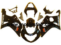 Suzuki GSXR 1000 2000-2002 ABS Fairing - Black