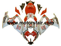 Suzuki GSXR 600/750 2006-2007 ABS Fairing - Lucky Strike
