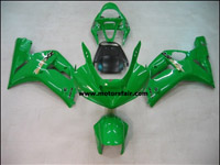 Kawasaki ZX6R 2003-2004 ABS Fairing - Green