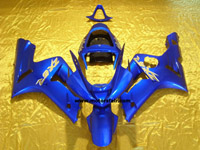 Kawasaki ZX6R 2003-2004 ABS Fairing - Blue