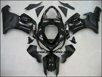 Kawasaki ZX6R 2005-2006 ABS Fairing - Black