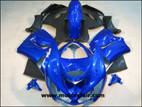 Kawasaki ZX6R 2005-2006 ABS Fairing - Blue