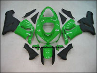 Kawasaki ZX6R 2005-2006 ABS Fairing - Green
