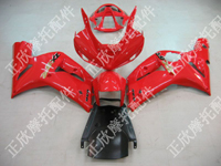ZXMT Red ABS Fairing Set 10pc - Kawasaki ZX-6R 2003-2004