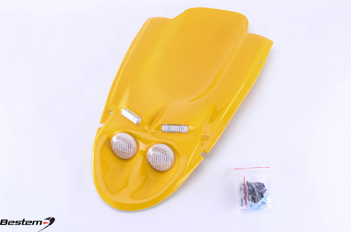 Bestem Suzuki GSXR 600(01-03)/750(00-03)/1000(01-02) Undertail,Yellow,4 Lights