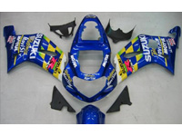 Movistar Fairing Set 9pc - Suzuki GSXR 600/750 2001-2003