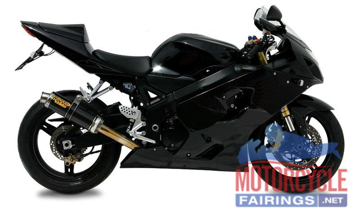 Gloss Black ABS Fairing Set K3 - Suzuki GSXR1000 2003-2004