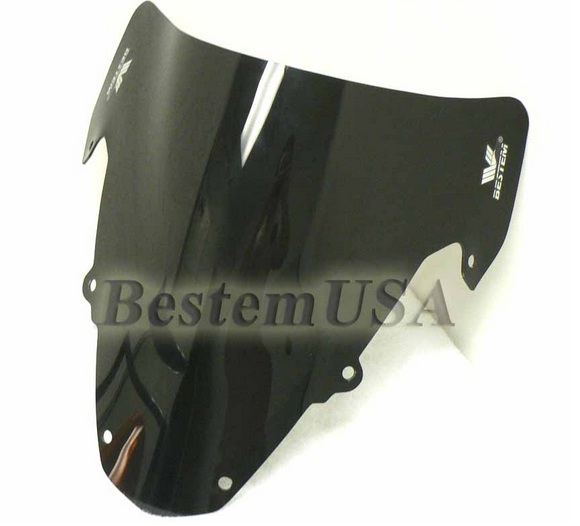 Bestem Suzuki GSXR 1000 03-04 Windshield Black