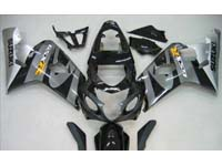Grey/Black Fairing Set 10pc - Suzuki GSXR 600/750 2004-2005