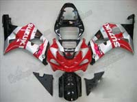Red Fairing Set 9pc - Suzuki GSXR 1000 2000-2002