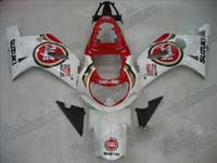Lucky Strike Fairing Set 9pc - Suzuki GSXR 1000 2000-2002
