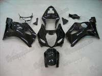 Black Fairing Set 9pc - Suzuki GSXR 1000 2003-2004